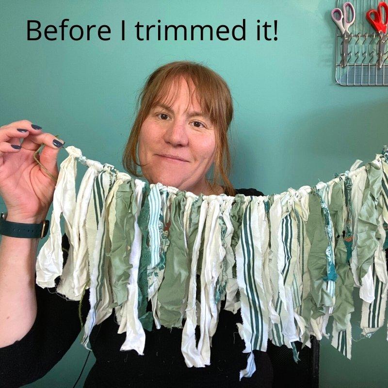no sew rag bunting