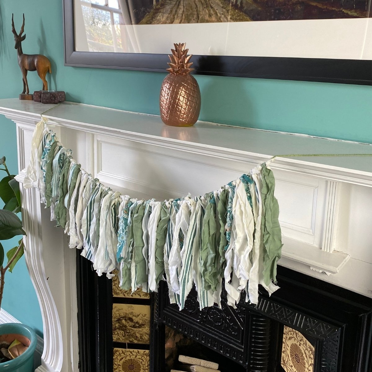 no sew rag bunting 8