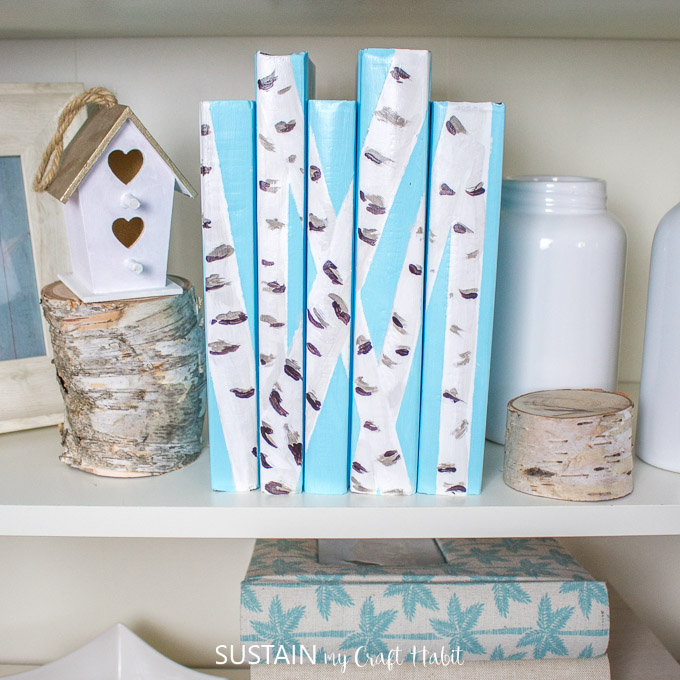 Birch Bark Painted Book Covers 34