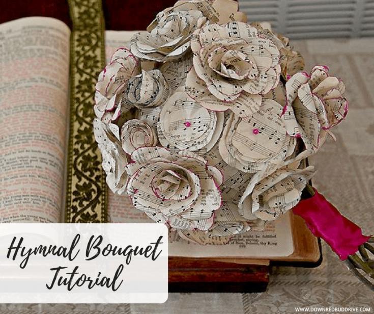Hymnal Bouquet Tutorial fb