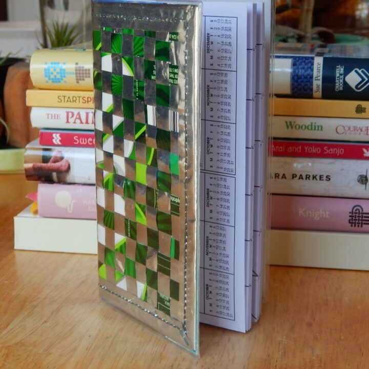 candy wrapper book cover
