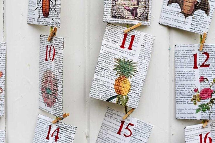 dictionary paper advent calendar fts 1