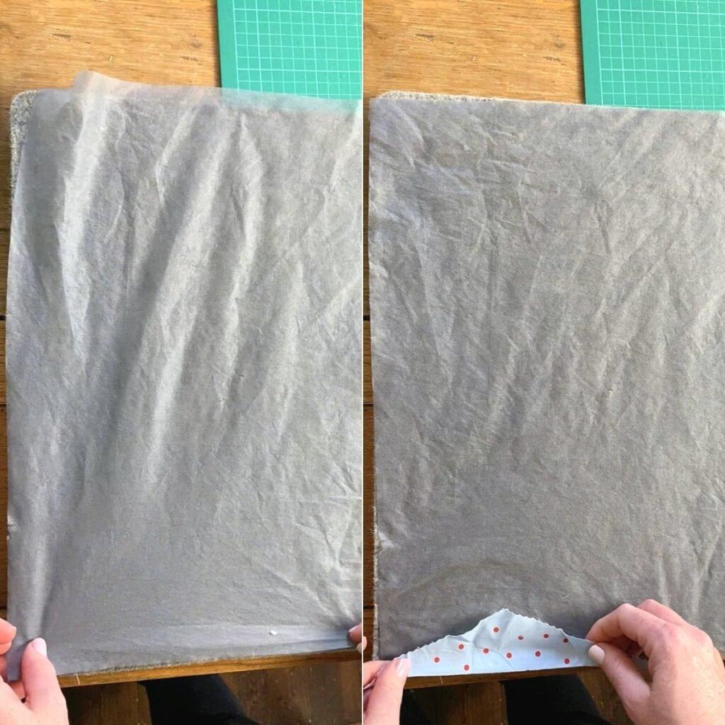 como fazer tecido com restos de tecido