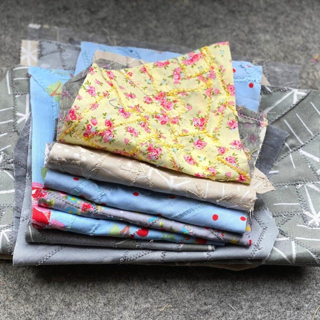 como fazer tecido a partir de sobras de tecido