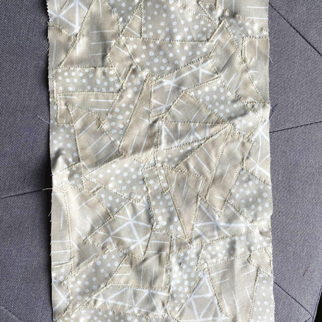 como fazer tecido de sobras