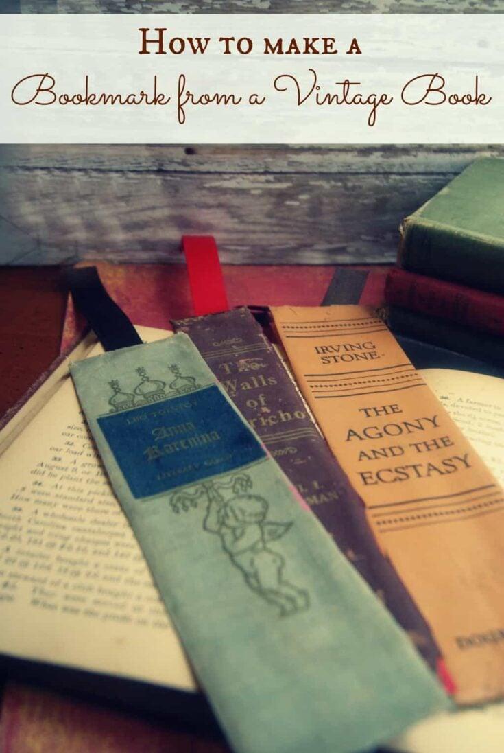 vintagebookmark