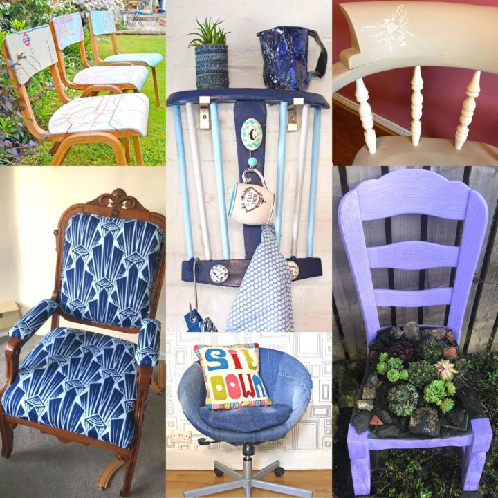 upcycle old chairs